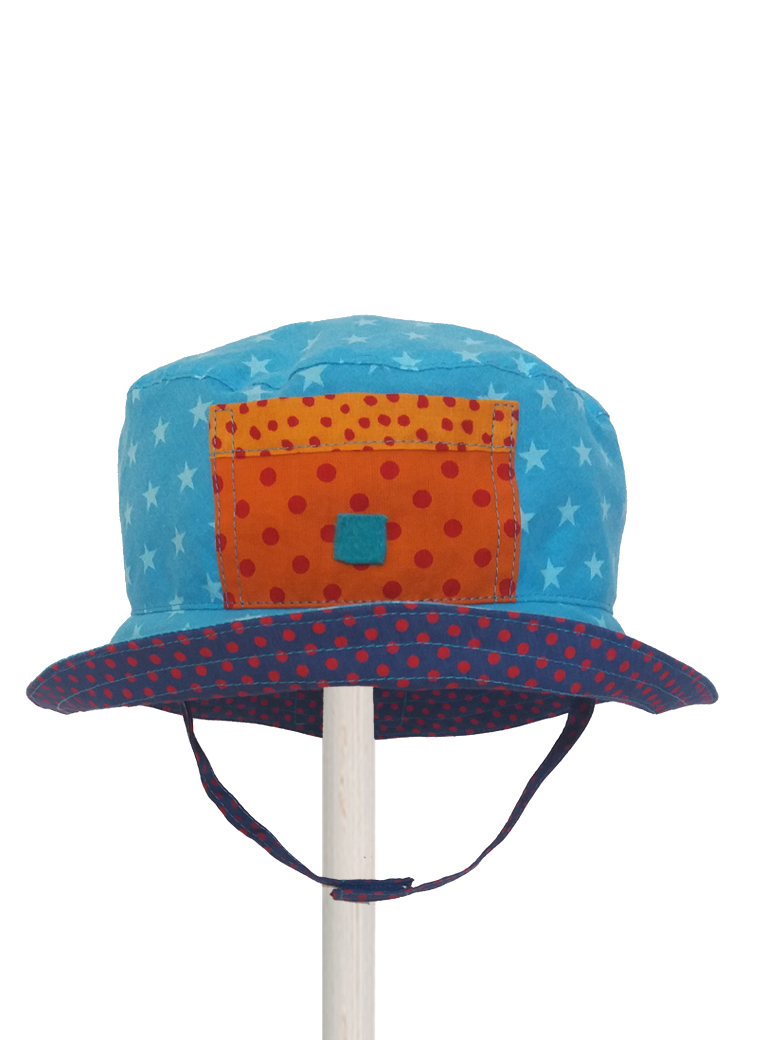 buoy blue star sunhat