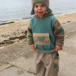 Oyster fleece hoody and trousers