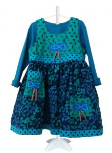 fish frock front