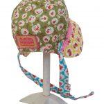 Polly baby bonnet back
