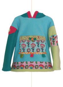 Lizzie Shirt tulip hoody